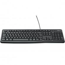 Teclado Com Fio Keyboard Logitech K120 920-004423 | Preto