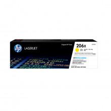 Toner HP W2112X 206X Amarelo | M255DW M282NW M283FDN M283FDW | Original 2.4k