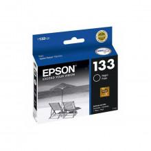 Cartucho de Tinta Epson T133120 T133 T1331 Preto | T25 TX125 TX420W TX123 TX320F | Original 7ml