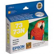 Cartucho de Tinta Epson T073420 T073 73N | Amarelo T30 T33 TX300F T20 | Original 5ml