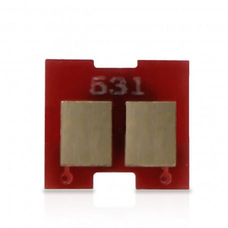 Chip Toner HP CC532A CE412A 304A 305A Amarelo Universal | 2.800 páginas
