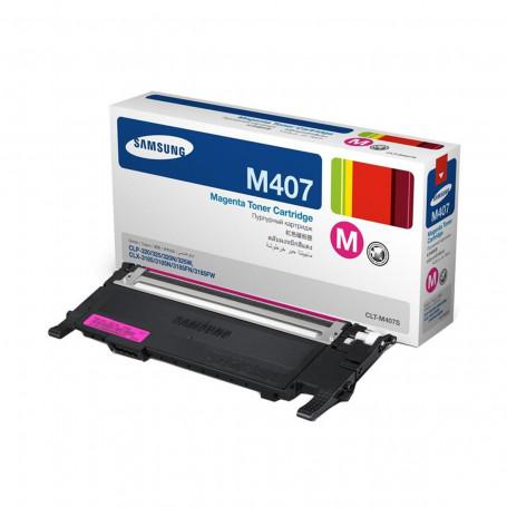 Toner Samsung CLT-M407S/XAA CLT-M407S Magenta | CLX-3185N CLP-325W CLX3185FW CLP325 | Original 1k