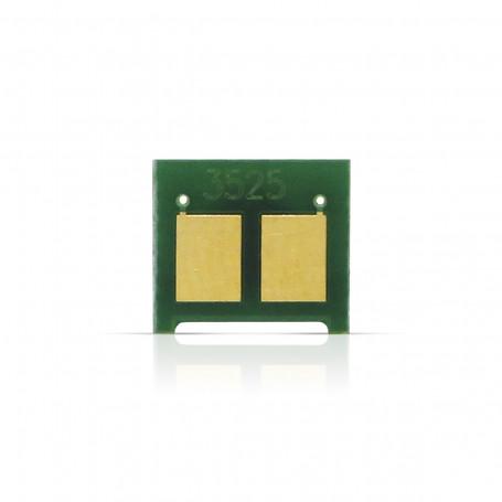 Chip HP CE252A Amarelo | CM3530 CM3530FS CP3525 CP3525DN CM3525N CM3525X | 2.500 impressões