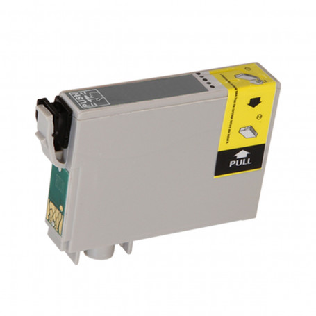 Cartucho de Tinta Compatível com Epson T133120 T133 Preto TX120 TX320F TX420W T22 TX430W TX235W 8ml