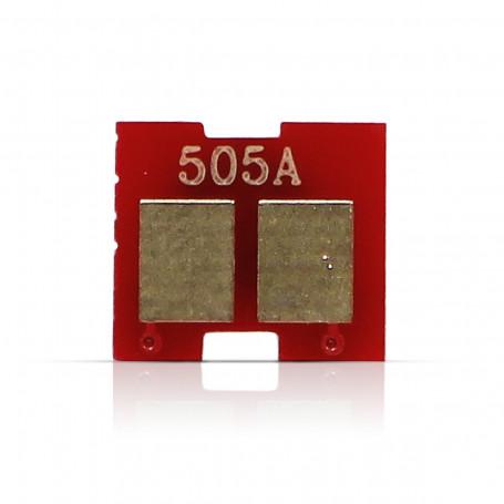 Chip HP CE505A Preto | P2035 P2035N P2055 P2055N P2055DN | 2.300 impressões