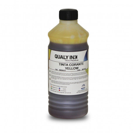Tinta Brother Universal Amarelo Corante YC2B-1176 | Qualy Ink 1kg