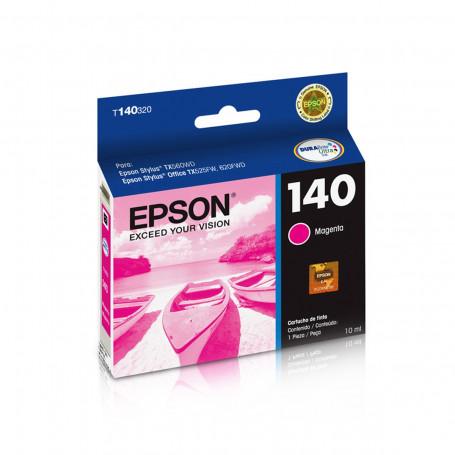 Cartucho de Tinta Epson T140320 T1403 T140 Magenta | T42WD TX620FWD TX560WD | Original 10 ml