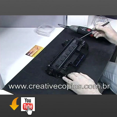 Video Aula Recarga do Toner HP CE505A, CE505X, P2035, P2035N, P2055, P2055N, P2055DN