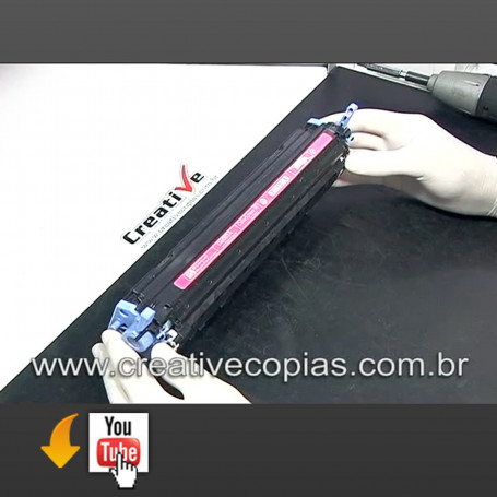 Video Aula Recarga HP 1600, 2600, 2600n, 2600dtn, CM1015, CM1017