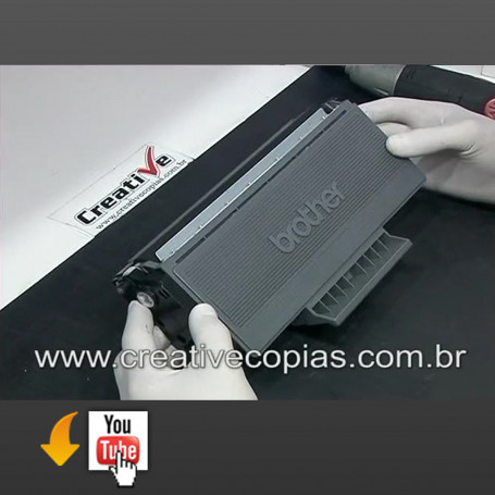 Video Aula Recarga Toner Brother TN580, TN 580, 5240, 5250, 5280, 8060, 8065, 8460, 8660, 8860, 8870