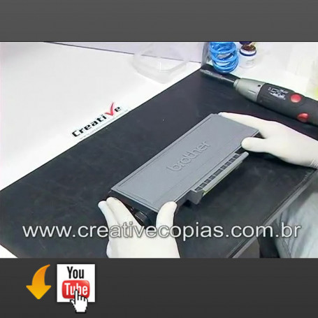 Video Aula Recarga Toner Brother TN650 TN 650 HL5340 HL5350 MFC8480 DCP8070 DCP8080 DCP8085 DCP8090