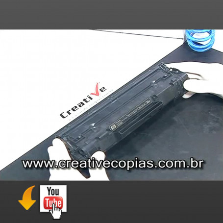 Video Aula Recarga Toner HP M1120 CB436A