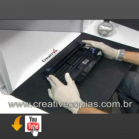 Vídeo Aula Troca Cilindro Brother DR620