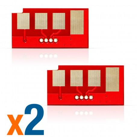 Kit 2 Chips Samsung ML-D2850B   ML2850 ML2851 ML2850D ML2851ND ML2851NDL   5.000 impressões