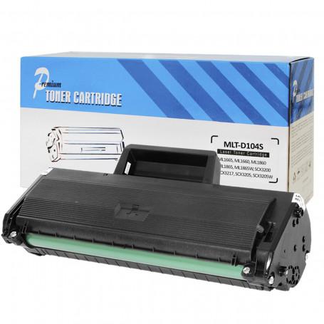 Toner Compatível com Samsung MLT-D104S ML1665 ML1660 ML1860 SCX3200 SCX3217 SCX3205 | Premium 1.5k