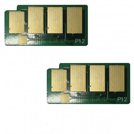 Kit 2 Chip Samsung SCX4600 SCX4623 SCX4623F SCX4623FN ML1915 ML2525   D105S D105L   2.500 impressões