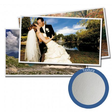Papel Fotográfico Glossy Brilhante Textura Couro | 200g tamanho A4 | Pacote com 20 folhas