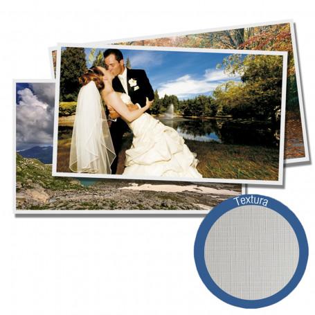 Papel Fotográfico Glossy Brilhante Textura Linho   200g tamanho A4   Pacote com 20 folhas