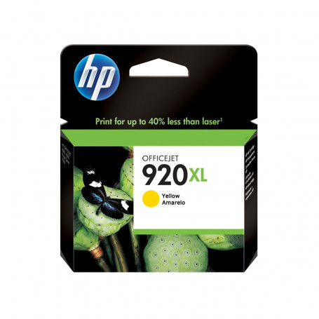 Cartucho de Tinta HP 920XL 920 Amarelo CD974AL | 6500WL 6000 6000WL 6500 7500A | Original 6ml