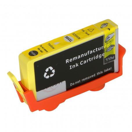 Cartucho de Tinta Compatível com HP 564XL CB325WN Amarelo 3070A 3520 3526 4620 4622 5512 5514 14,5ml
