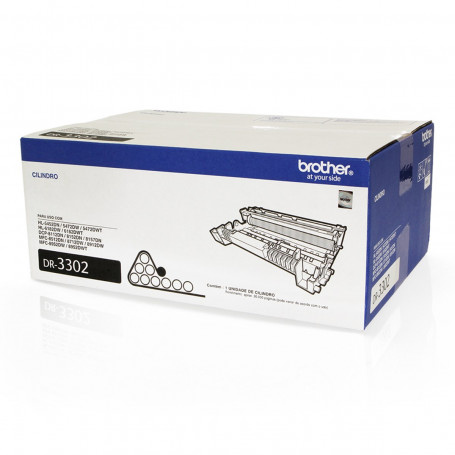 Cartucho de Cilindro Brother DR3302   HL5452 DCP8112 MFC8512 HL5472 DCP8152 MFC8712   Original 30k