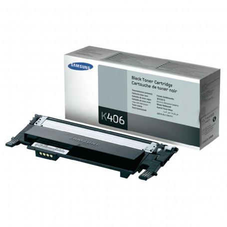 Toner Samsung CLT-K406S Preto   CLP365W CLP365 C460W C460FW C410W CLP360 CLX3305   Original 1.5k