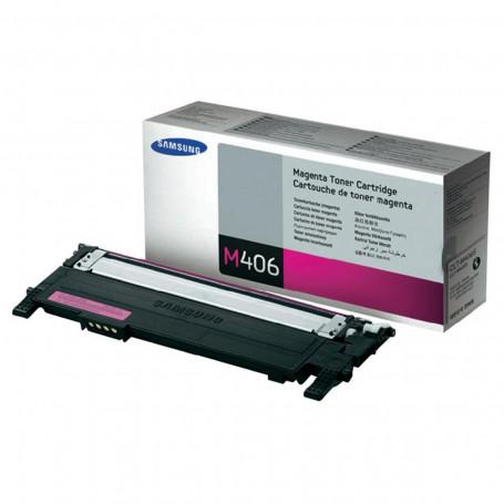 Toner Samsung CLT-M406S Magenta | CLP365W CLX3305 CLP365 C460W C460FW CLP360 C410W | Original 1k