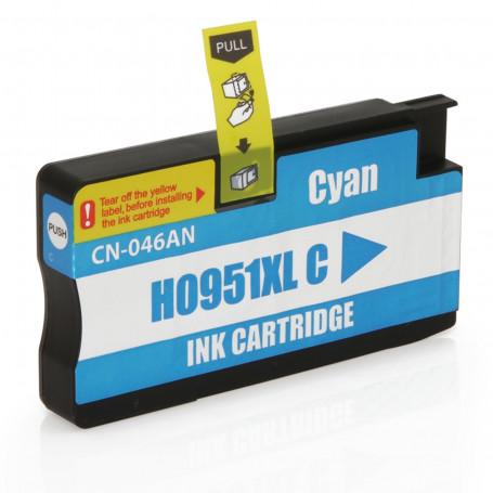 Cartucho de Tinta Compatível com HP 951XL 951 CN046A Ciano | Officejet 8600W Officejet 8100 20ml