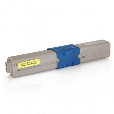 Toner Compatível Okidata 469704 469701 Amarelo   C310 MC351 C310N MC361DN C330 MC561   Importado 2k
