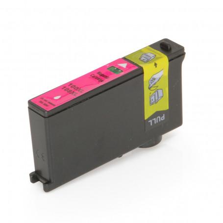 Cartucho de Tinta Compatível com Lexmark 100XL Magenta 14N1070 Pro 705 Pro 205 Pro 805 905 11,5ml