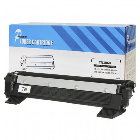 Toner Compatível com Brother TN1060 | DCP1602 DCP1512 DCP1617NW HL1112 HL1202 HL1212W | Premium 1k