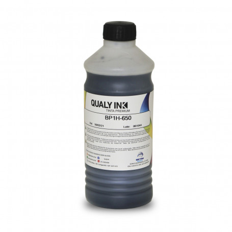 Tinta HP Canon Lexmark Pigmentada Plus Preto Universal | BP1H-650 Qualy Ink 1kg