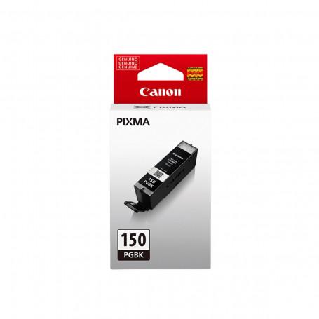 Cartucho de Tinta Canon PGI-150BK PGI150 Preto   Original 15ml