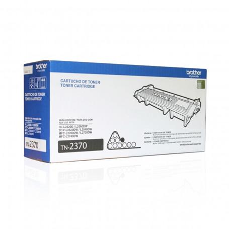 Toner Brother TN2370 | HL-L2360DW HL-L2320D MFC-L2720DW MFC-L2740DW | Original 2.6K