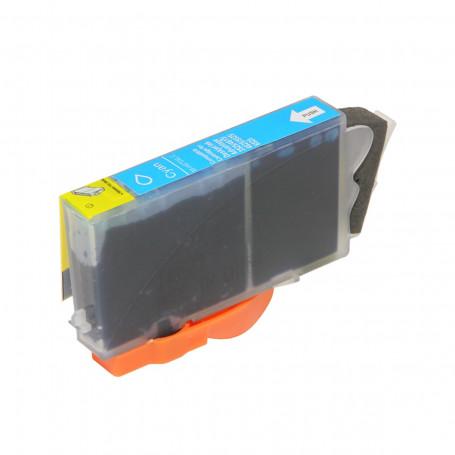 Cartucho de Tinta Compatível com HP 670XL CZ118AB   4625 4615 5525   Ciano   Importado 14ml