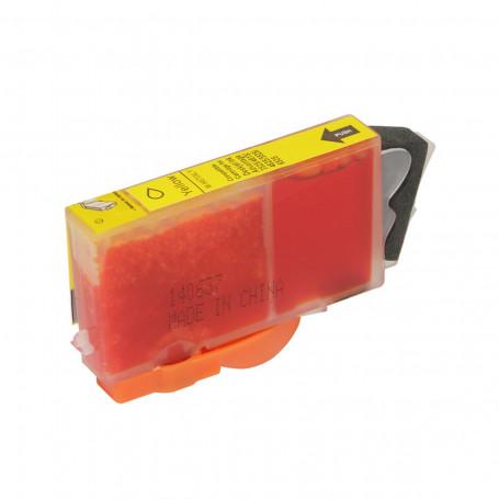 Cartucho de Tinta Compatível com HP 670XL CZ120AB | 4625 4615 5525 | Amarelo | Importado 14ml