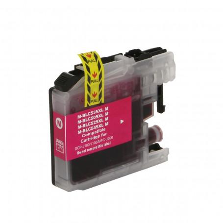 Cartucho de Tinta Compatível com Brother LC-505M LC505 Magenta   DCP-J105 DCP-J100 MFC-J200 11ml