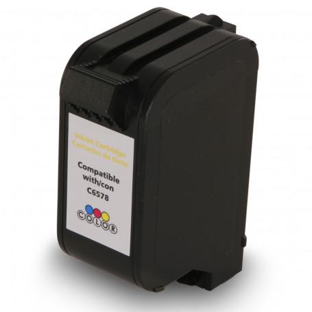 Cartucho de Tinta Compatível com HP 78 C6578DL Color | Deskjet 920C P1000 PSC720 30 ml