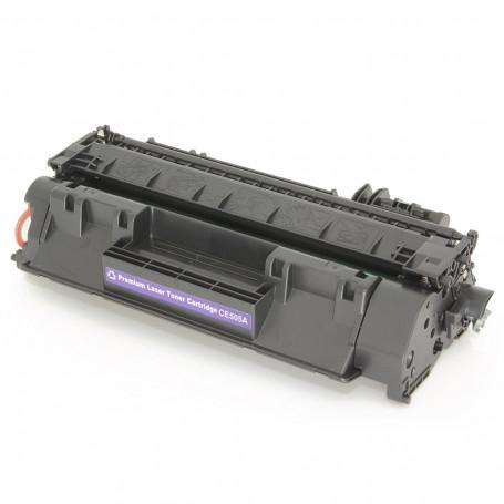 Toner Compatível com HP CE505A CE505AB | P2035 P2055 P2035N P2055N P2055X P2055DN | Premium 2.3k