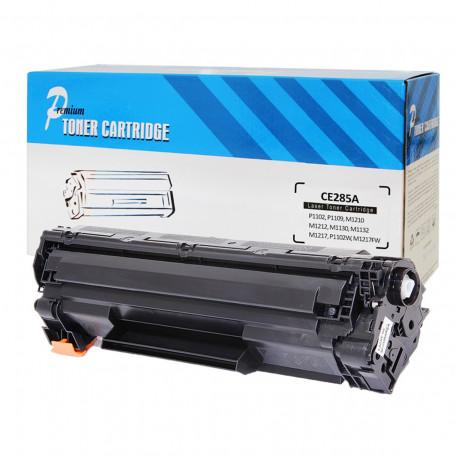 Toner Compatível com HP CE285A 285A CE285AB | P1102 P1102W M1132 M1210 M1212 M1130 | Premium 1.8k