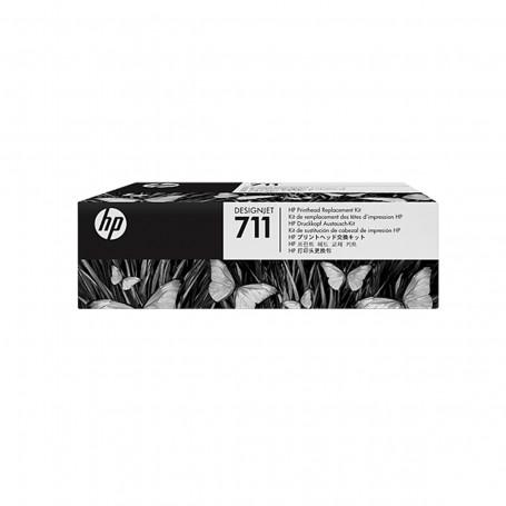 Kit de Substituição de Cabeça de Impressão HP 711   T120 T520 T130   C1Q10A   Original