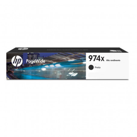 Cartucho de Tinta HP 974X L0S08AB Preto | 452DN 452DW 477DN 477DW 552DW 577DW 577z | Original