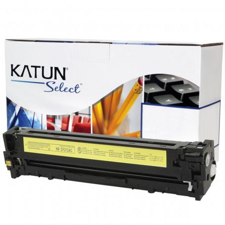 Toner Compatível com HP CF212A 131A Amarelo   Pro 200 M276 M251NW M276N M276NW   Katun Select 1.8k