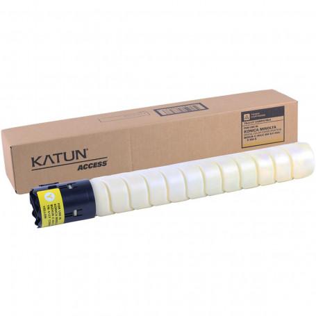 Toner Konica Minolta TN-324Y TN512Y Amarelo | Bizhub C454 C554 C258 C308 C368 | Katun Access 527g