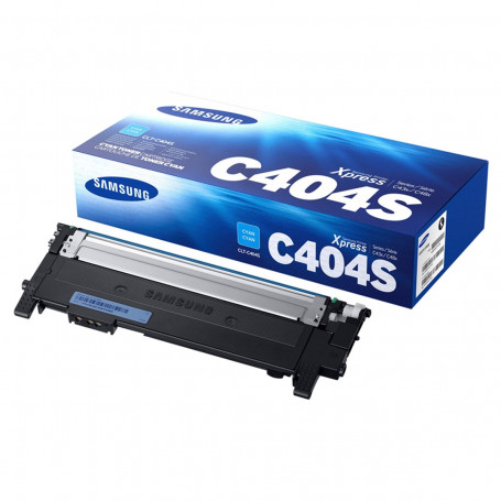 Toner Samsung CLT-C404S Ciano | C430 C480 C430W C480W C480FW 430W 480W 480FW | Original 1k
