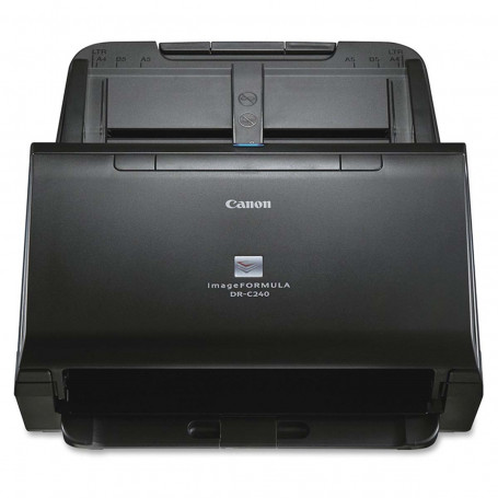 Scanner Canon imageFORMULA DR-C240 | Conexão USB Até Tamanho Ofício ADF para 60 Folhas com Duplex