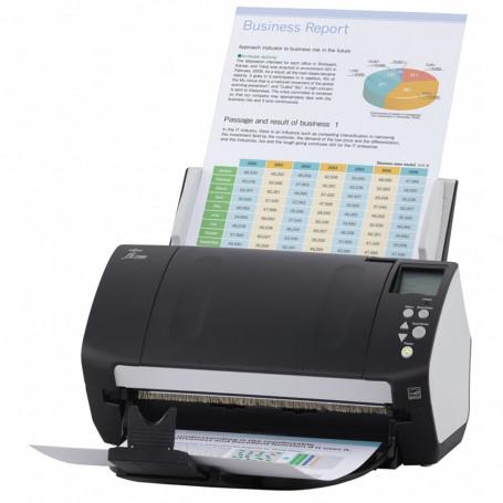 Scanner Fujitsu Fi-7180 Fi7180 | Conexão USB Até Tamanho Ofício ADF para 80 Folhas com Duplex