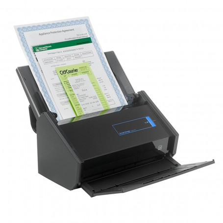 Scanner Fujitsu ScanSnap iX500 iX-500 | Conexão USB Até Tamanho A3 ADF para 50 Folhas com Duplex