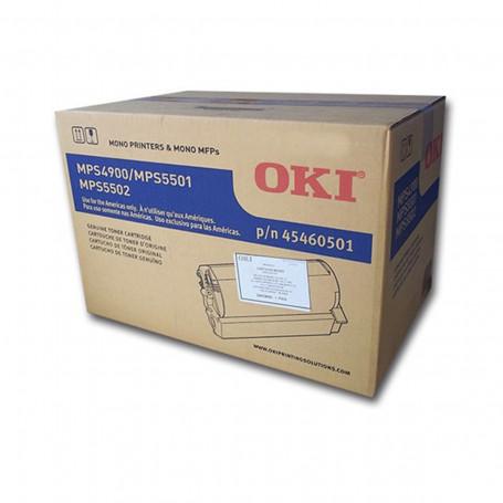 Toner Okidata MPS5501B MPS5501 MPS 5501B MPS5502MB MPS 5502MB MPS5502 45460512BR   Original 36k