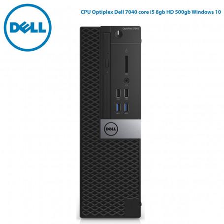Computador Dell Desktop   CPU Optiplex 7040SFF core i5 8gb HD 500gb + Teclado KB216 + Mouse MS116